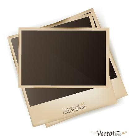 Photo frames- vector illustration. Stock Vector - 17350475