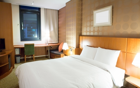 Interior of modern comfortable hotel room Stock Photo - 17436522