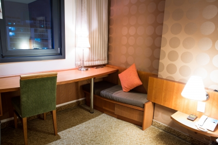 Interior of modern comfortable hotel room Stock Photo - 17436520