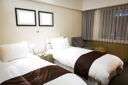 Interior of modern comfortable hotel room Stock Photo - 17436513