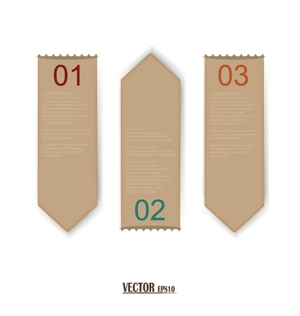 Set of labels with place for text. Stock Vector - 17444376