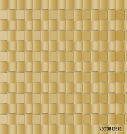 bucolic: Sfondo di vimini (seamless) Vettoriali