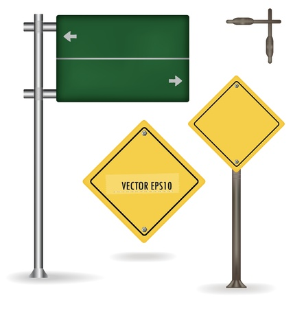 Traffic sign. Vector