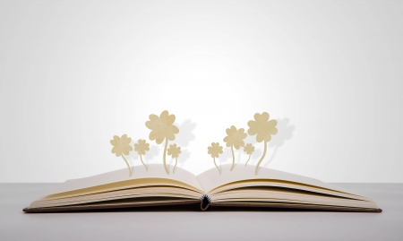 aphorism: Paper cut of Four leaf clover