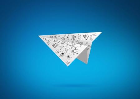 input device: Graph Paper plane