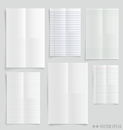 White papers Stock Vector - 20870990