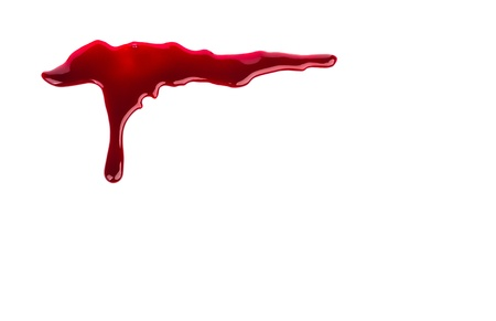 the ink drop: Halloween concept : Blood dripping