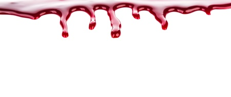Halloween concept : Blood dripping Stock Photo - 22149050