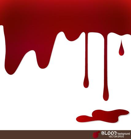 La sangre que gotea, fondo de la sangre. Ilustración del vector. Foto de archivo - 22683091