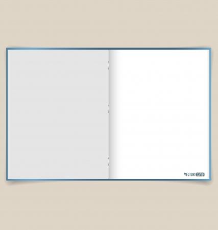 Notebook. Vector EPS10 Vector