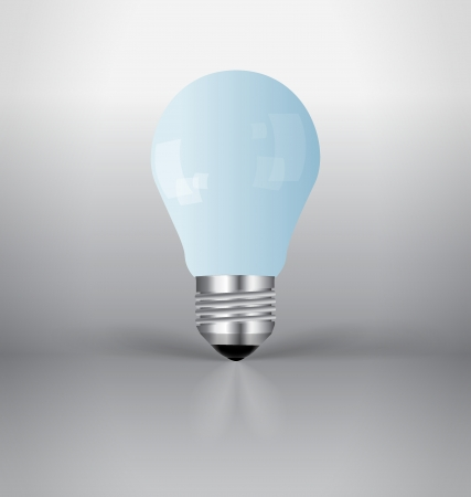 A light bulb. Vector Illustration. Vector