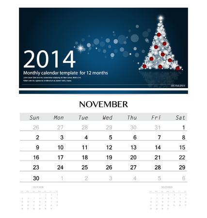 2014 Calendar Monthly Calendar Template For August Christmas