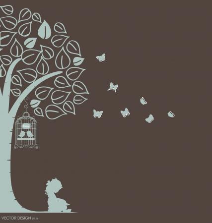 Vector dekoracyjne Naklejki ścienne dla Twojego Domu wnętrz. (Łatwo tworzyć własne naklejki ścienne)