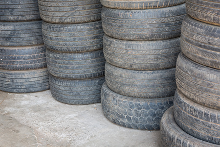 Old tire Stock Photo - 26068987