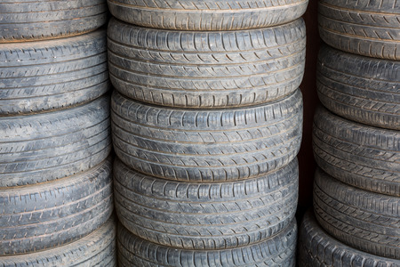 Old tire Stock Photo - 26069032