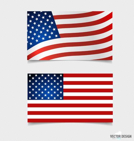 forth: American Flag.