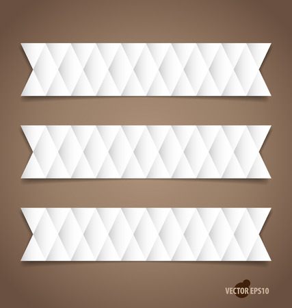 message vector: Note papers, ready for your message. Vector illustration.