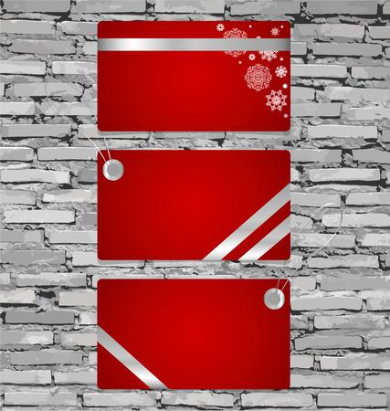 Gift Cards. Vector illustration. Vector