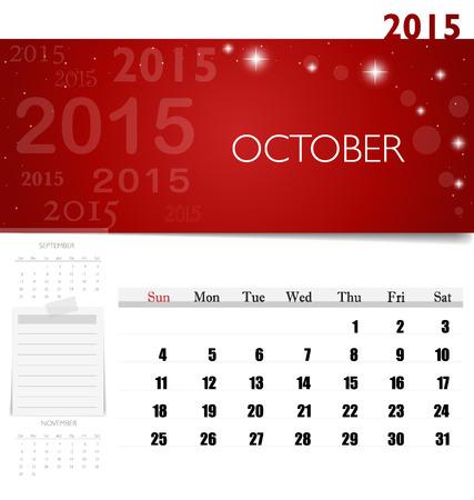 october 2015 calendar doc