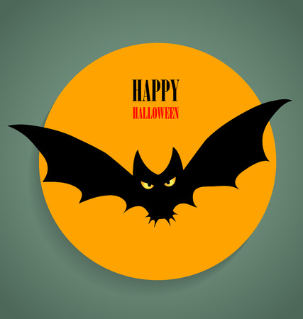 Happy Halloween design background. Vector illustration. Vector