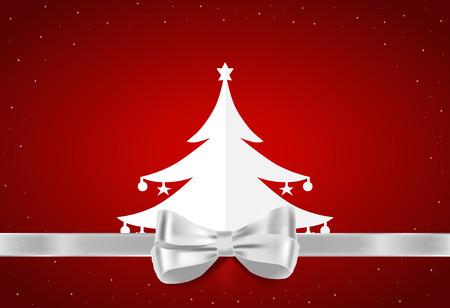 Merry Christmas gift card design , vector illustration. Vector