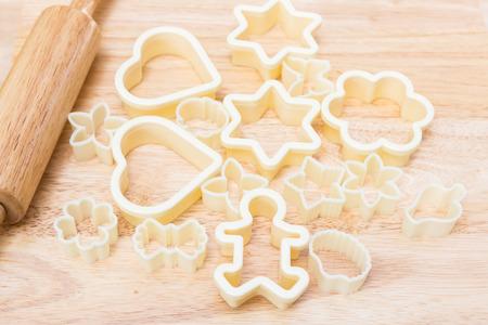 Christmas cookies preparation photo