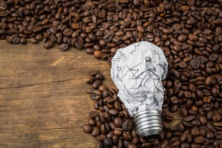 coffeetree: Light bulb on  coffee beans