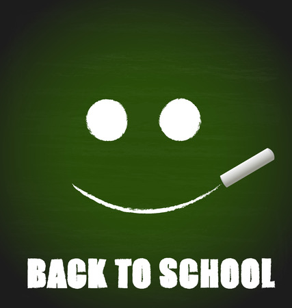 semester: Welcome back to school, vector illustration. Illustration