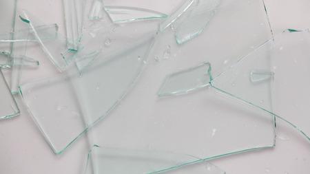 demolish: Broken glass