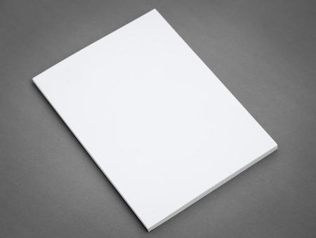 literatura: Catálogo en blanco, folletos, revistas, libros maqueta