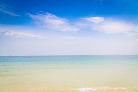 blue romance: Blue sea and sky
