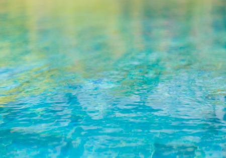aqua background: Swimming pool with rippled water