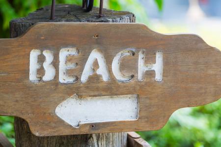 beach access: Beach Access wood Sign