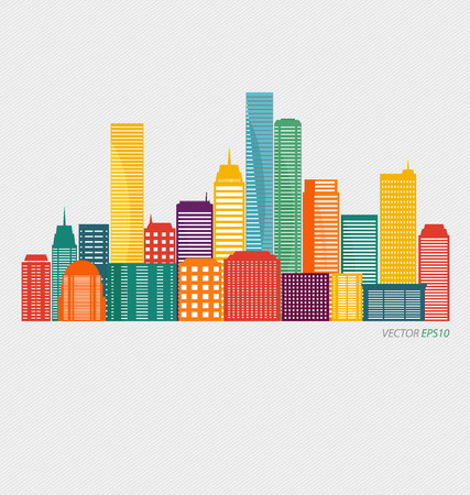 Creative building design template, for your company, vector illustration