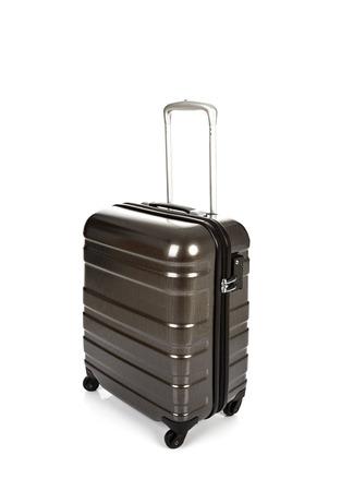 valise voyage: Valise isolée sur fond blanc
