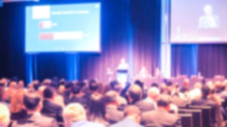 Abstract blur Business-Konferenz und Präsentation Lizenzfreie Bilder