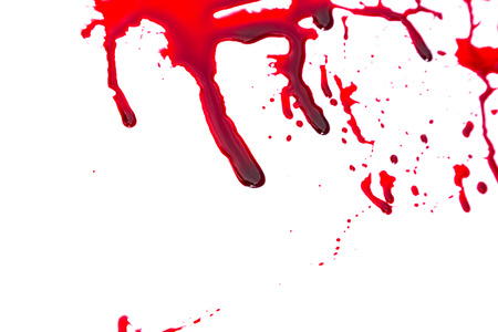 blood stain: Halloween concept : Blood dripping