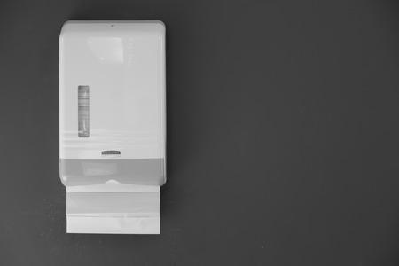 inodoro: Papel higiénico (imagen filtrada procesada efecto vintage.) Foto de archivo