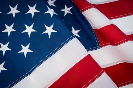 """AmerykaÅ""""ska flaga Zdjęcie Seryjne"""