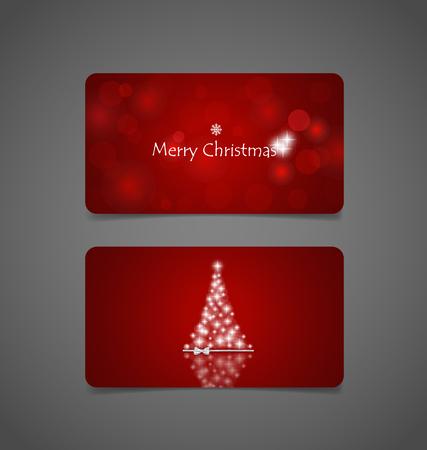 christmas tree illustration: Christmas background with Christmas tree, vector illustration. Illustration