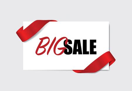End of year sale, Christmas sale design template. Sale Coupon, voucher, tag. Vector illustration. Illustration