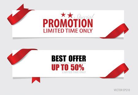 Koniec roku sprzedaży, Christmas Sale szablonu projektu. Sprzedaż kupon, kupon, tag. ilustracji wektorowych. Ilustracja