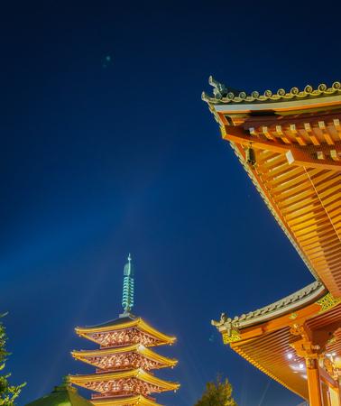 asakusa: Sensoji-ji Temple in Asakusa Japan Editorial