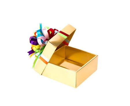 gold gift box: Gold gift box