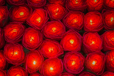 Red rose light