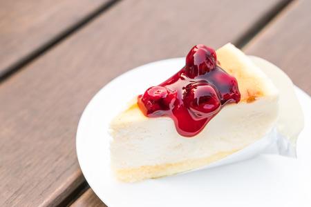 Scheibe von New York Cheesecake