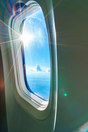 plane window: Plane window