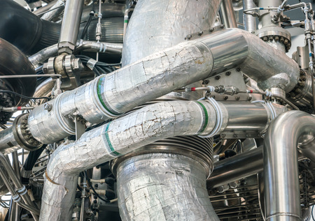 pipework: Closeup of space engine