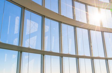 big window: Big window with sunshine
