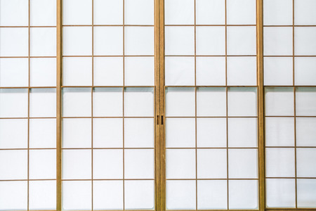 a detached living room: Japanese style room Stock Photo